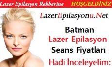 Batman Lazer Epilasyon Seans Fiyatları / Ücretleri