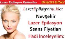 Nevşehir Lazer Epilasyon Seans Fiyatları / Ücretleri