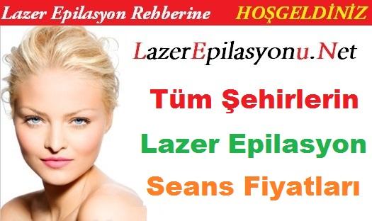 lazer epilasyon seans fiyatları