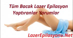 tüm bacak lazer epilasyon