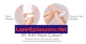 medisana ıpl-840 lazer epilasyon aleti nasıl